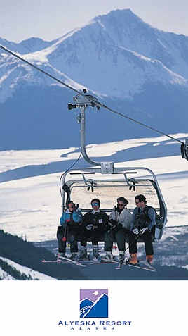 Alyeska Resort, Alaska Winter Ski Tours, Alyeska Spa Packages